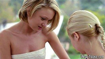 lean puny breast teenagers