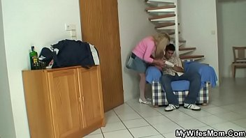 towheaded grannie in milky undergarments satiates.