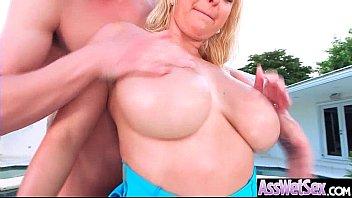 large raw caboose lady nina kayy get lubed.