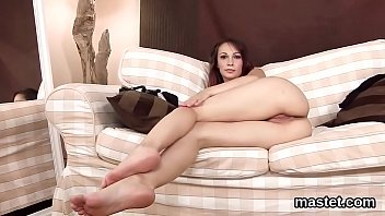 Frisky czech girl gapes her soft fuckbox to the unusual