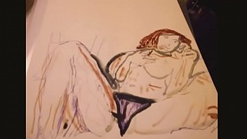 nude drawing damsels dolls
