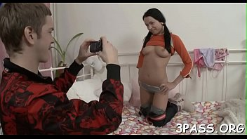 eighteen age teen slender honey stretches gams and.