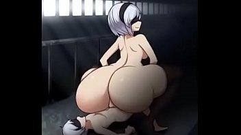 sinensian - large culo 2b manga pornography caboose bounce