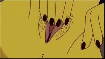 marge dos simpsons safada se masturbando