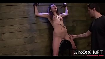 held doxy gets huiliated as she039_s coercive to inhale