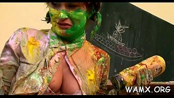 supah-naughty girly-girl honeys in outdoor food pornography fetish gigs