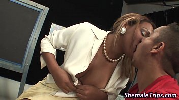black t-girl spunk doused