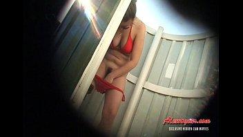 hiden webcam in beach cabin 010