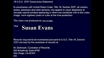 susan evans takes care of sonnies.