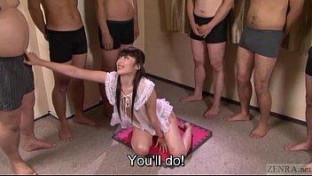 subtitled japanese gokkun nutting in jaws with ayu sakurai