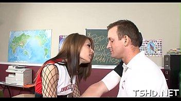 a pervy student rails her 1st.