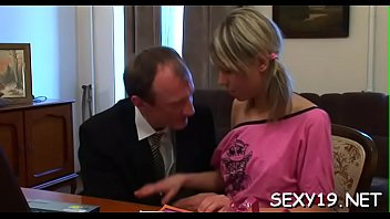 concupiscent elder schoolteacher is fucking babe039_s cock-squashing donk.