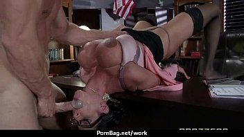 Big titted office MILF fucks at work 11