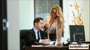 gigantic-titted assistant corinna blake gives her chief and bj