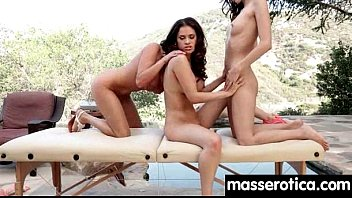 Sexy girl gives big tits lesbian an orgasm 8