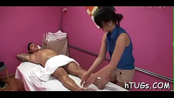 Supplementary curvy babe gives massage than goes super dirty