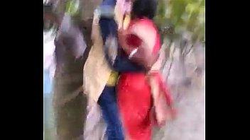 marathi desi boy and aunty sultry smooch in public