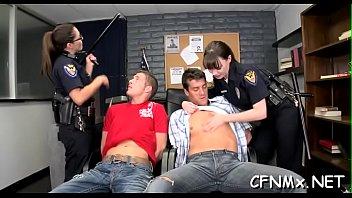 man gets overweight jism-pump throated