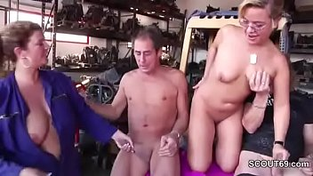 cougar mummy entice to penetrate outdoor in 3.