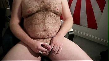 fatty hairy getting off