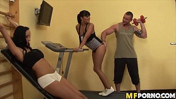 gym bedroom bang-out christine lee jasmine ebony jennifer.