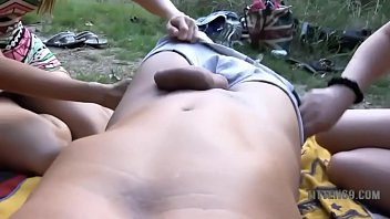 outdoor german rectal inward ejaculation with.