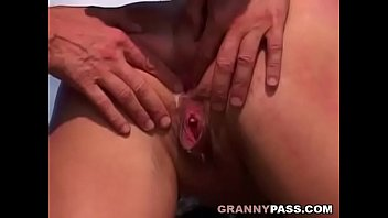 painful caboose-penetrate with german grannie