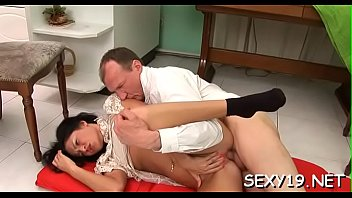 lustful senior tutor is nailing babe039_s taut rectal cave