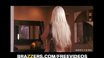 nymphomaniac blond gets facefucked and has an assfuck climax