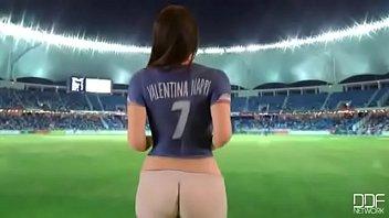 Valentina Nappi gostosa pelada em homenagem pra copa do mundo - mais em www.privelogclub.com/a/prive-valentina