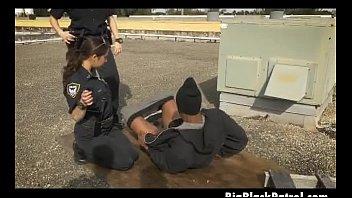 dark-hued man gets his shlong fellated by milky.