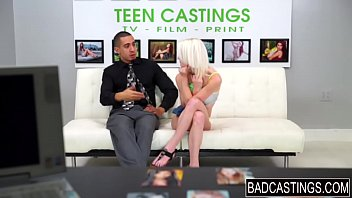 sporty teenager gets pawed during casting