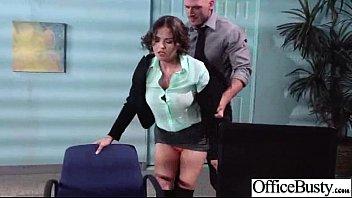 lovemaking gauze in office with mega-slut giant juggs.