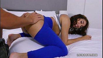 Beautiful big ass babe Kitty Catherine POV gets fucking