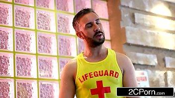 supah hot russian silver-blonde kayla green lets lifeguard.