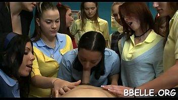 supah-naughty girls are taking turns absorbing.