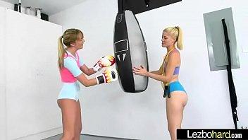 (Charlotte Stokely &amp_ Kenna James) Teen Cute Horny Girls In Hot Lesbo Sex Scene movie-10