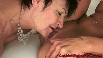 make-out liking grandmother satisfies junior vag