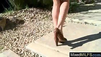 mixt intercourse vignette with ebony mamba trouser snake.