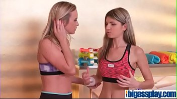 girly homies entice gym instructorcristal caitlin amp_ gina.