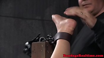 orb bonded marionette disciplined with bastinade