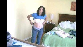 spy nude in guest room