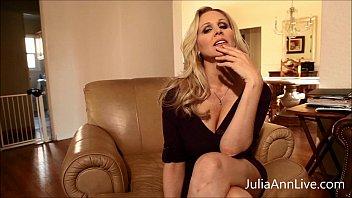 chesty ash-blonde cougar julia ann thumbs.