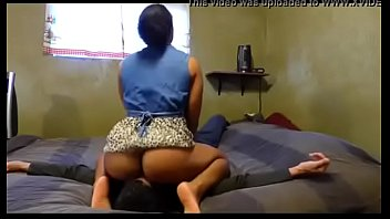 humungous arse black sits on her bfs face.