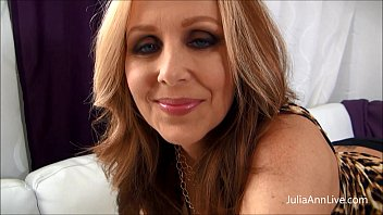 Julia Ann - Cum All Over My Big Tits!