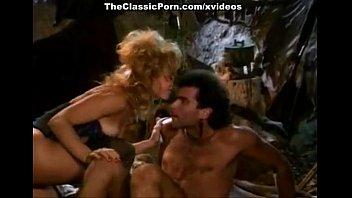 Nina Hartley, Jon Dough in 80'_s porn video of a barbarian fucking a blondie