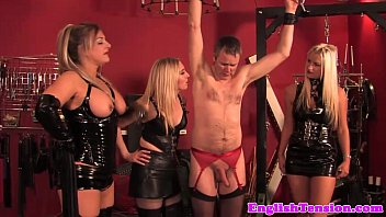 raunchy dominas cropping pathetic trussed subject