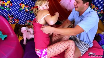 pinkish luving silver-blonde wank with jizz on her cunt