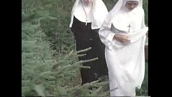 nuns ravage with priest in the.
