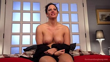 Hot *MILF* Wife Gangbanged By Husband&#039_s Friends
